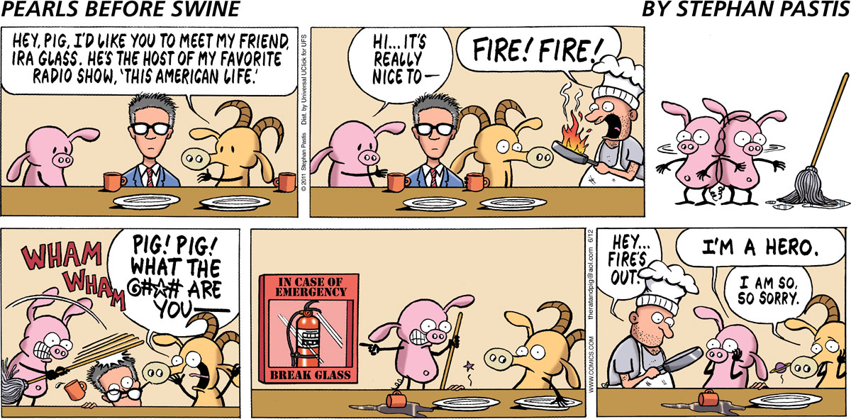 Pearls Before Swine Comic Strip for June 12, 2011