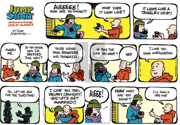 JumpStart on Sunday August 5, 2018 Comic Strip