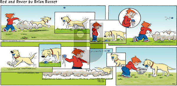 Red and Rover on Sunday March 27, 2011 Comic Strip