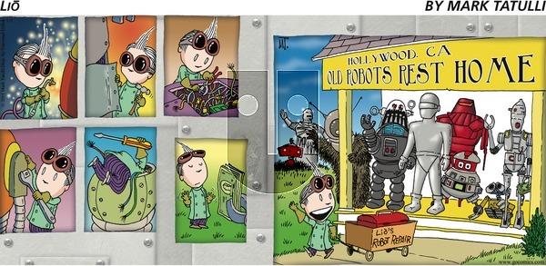 Lio on Sunday May 22, 2011 Comic Strip