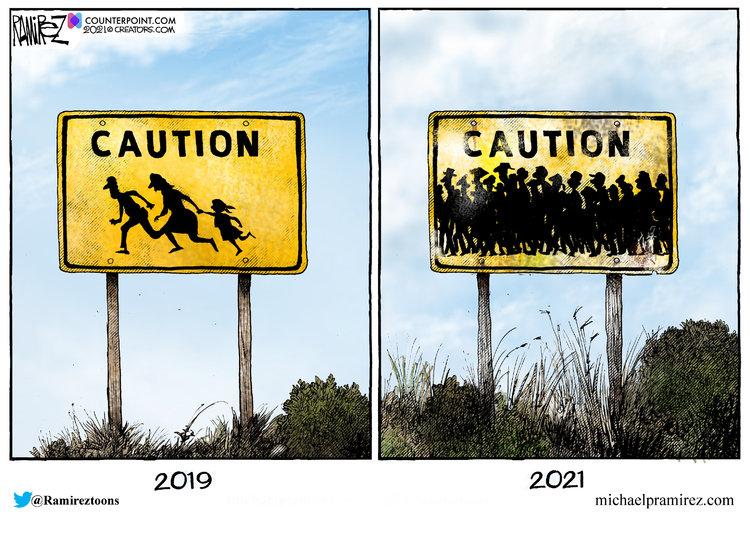 Michael Ramirez Comic Strip for September 24, 2021