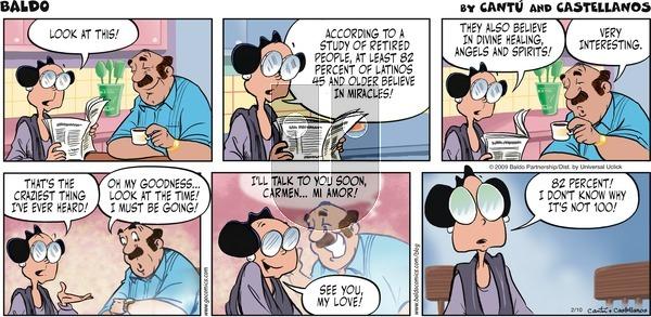 Baldo on Sunday February 10, 2013 Comic Strip