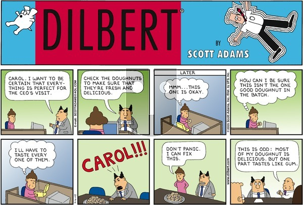 Dilbert - Sunday February 6, 2005 Comic Strip