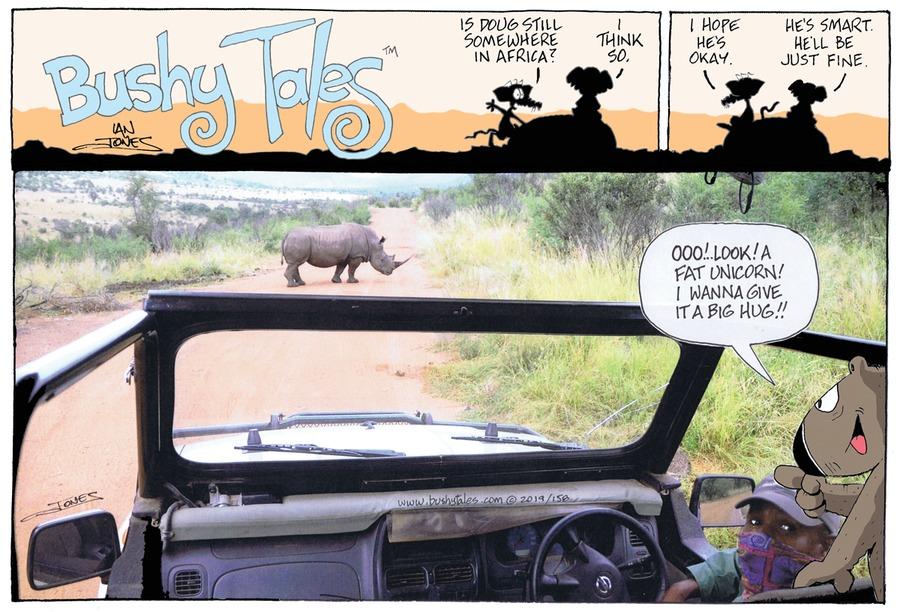 Bushy Tales Comic Strip for April 14, 2019