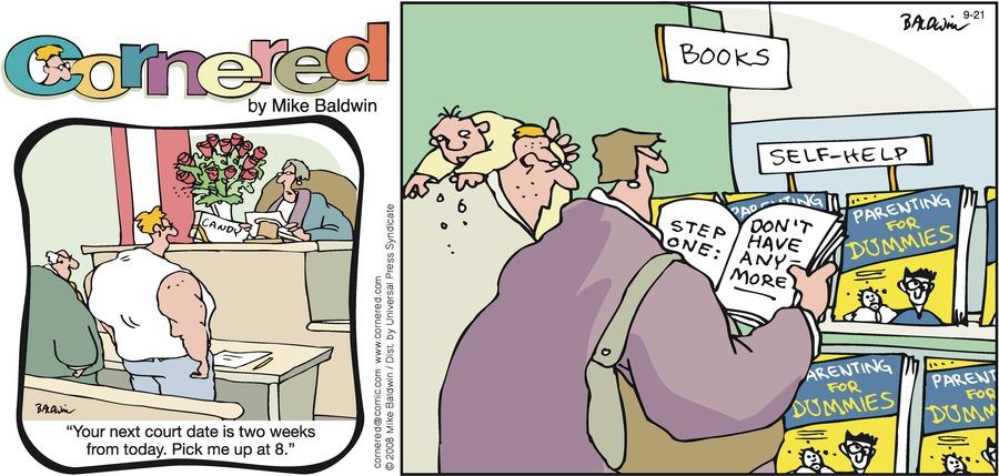 Cornered Comic Strip for September 21, 2008