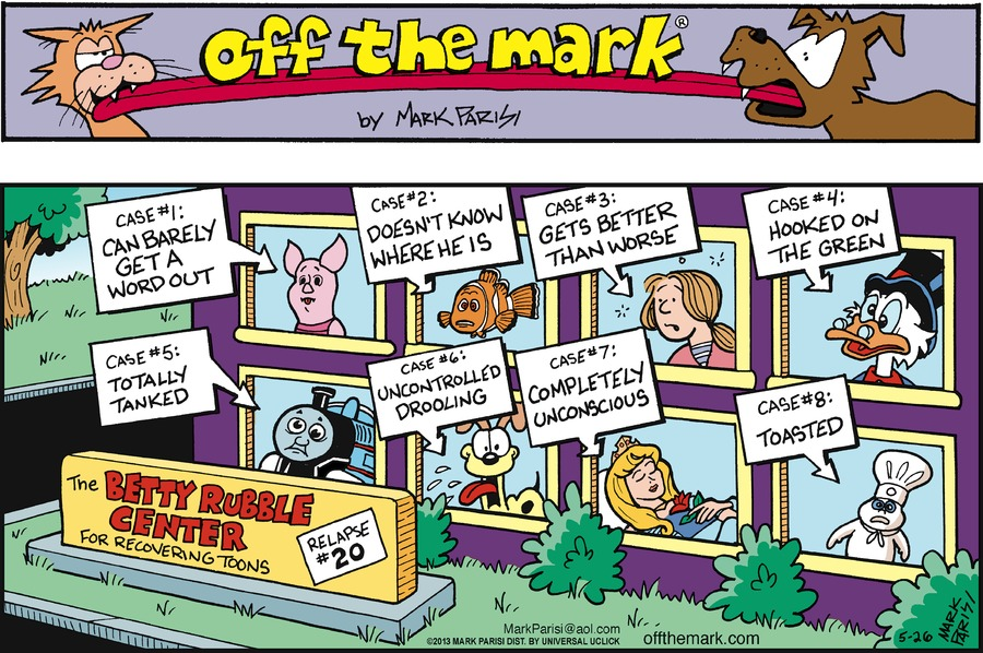 Off the Mark for May 26, 2013 Comic Strip