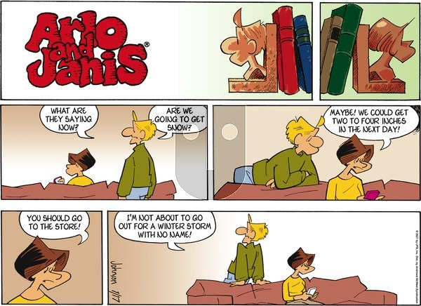 Arlo and Janis on Sunday January 17, 2021 Comic Strip
