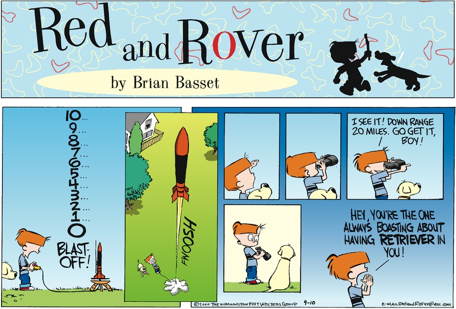 Red and Rover for Sep 10, 2000 Comic Strip