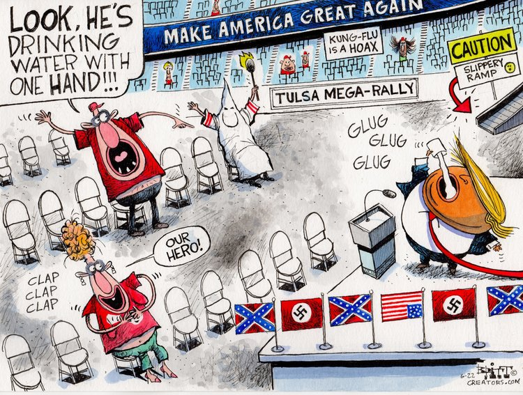 Chris Britt Comic Strip for June 23, 2020
