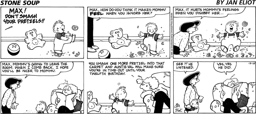 Stone Soup Comic Strip for December 10, 1995