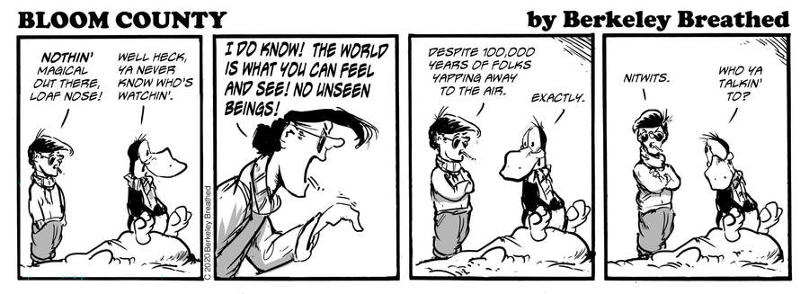 Bloom County 2019 Comic Strip for January 11, 2020
