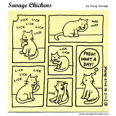 Savage Chickens for Sep 8, 2016 Comic Strip