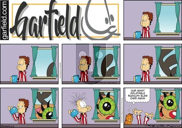 Garfield on Sunday December 3, 2017 Comic Strip