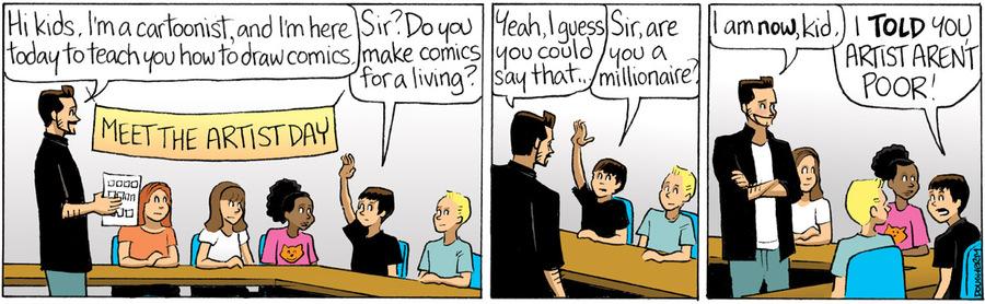 Beardo for Oct 2, 2013 Comic Strip