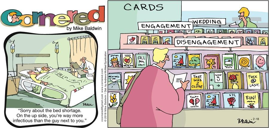 Cornered Comic Strip for February 18, 2018