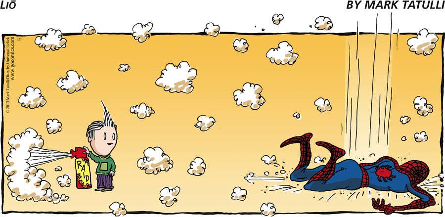 Lio Comic Strip for January 27, 2013
