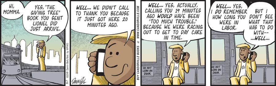 Candorville Comic Strip for June 07, 2019