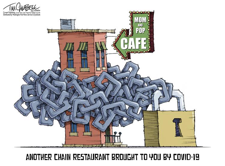 Tim Campbell Comic Strip for September 29, 2020