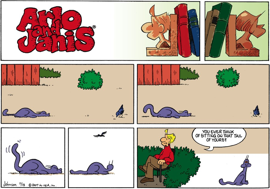 Arlo and Janis for Nov 18, 2007 Comic Strip