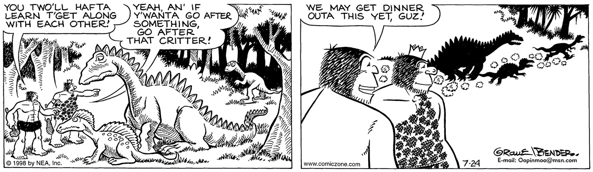 Alley Oop for Jul 24, 1998 Comic Strip