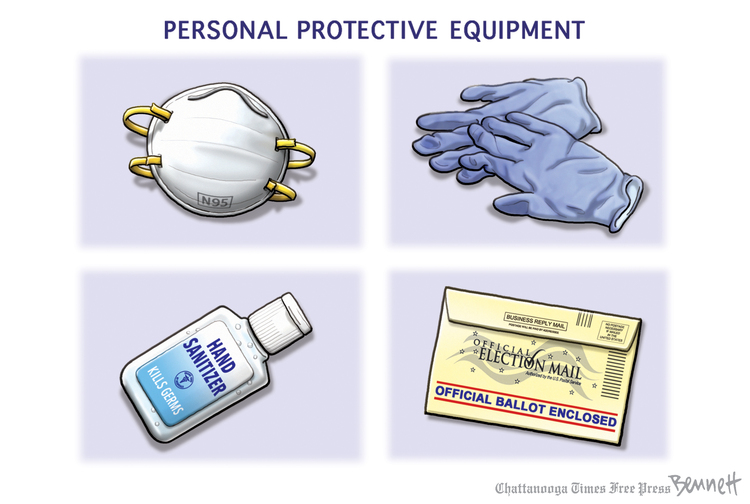 Clay Bennett Comic Strip for August 11, 2020