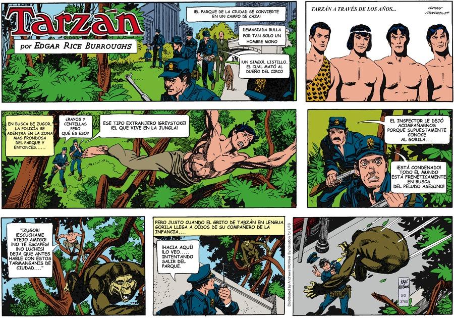 Tarzán en Español by Edgar Rice Burroughs on Sun, 02 May 2021
