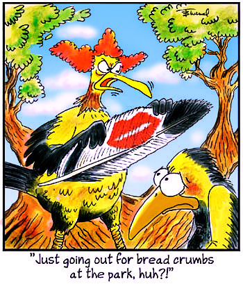 Birdbrains Comic Strip for February 12, 2019