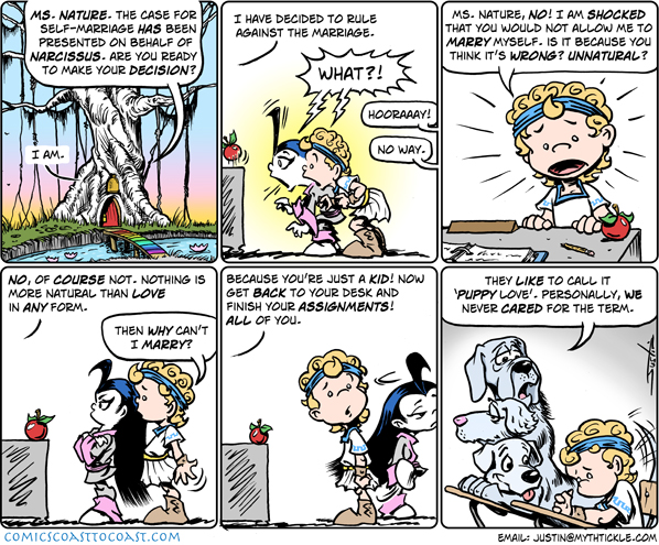 MythTickle Comic Strip for February 17, 2009