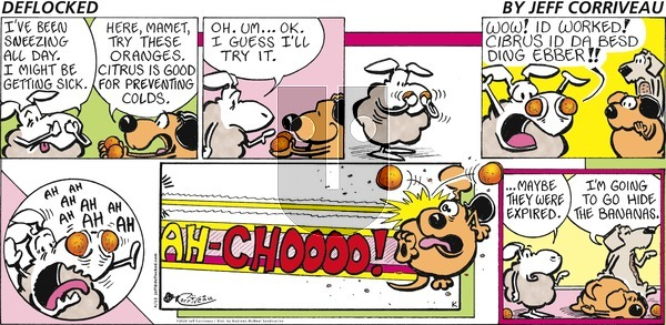 DeFlocked on Sunday April 12, 2020 Comic Strip