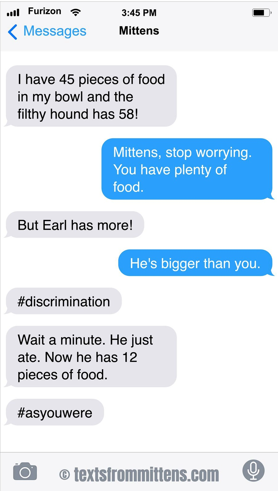 Texts From Mittens Comic Strip for January 26, 2020