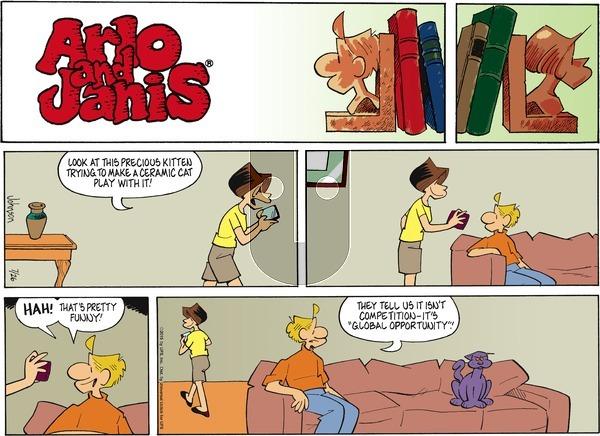 Arlo and Janis on Sunday July 26, 2015 Comic Strip