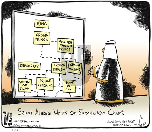 Tom Toles on Sunday May 3, 2015 Comic Strip