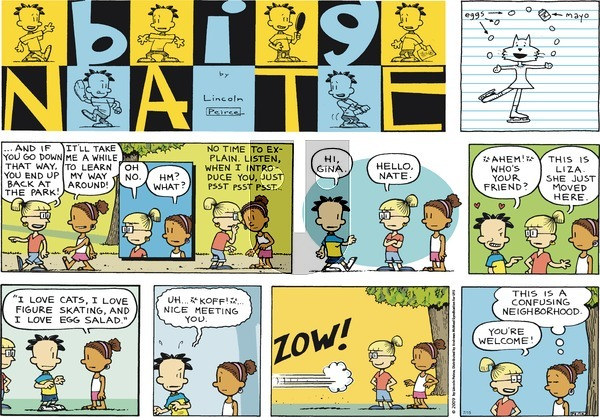 Big Nate on Sunday July 15, 2018 Comic Strip