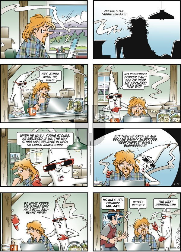 Doonesbury - Sunday April 15, 2018 Comic Strip
