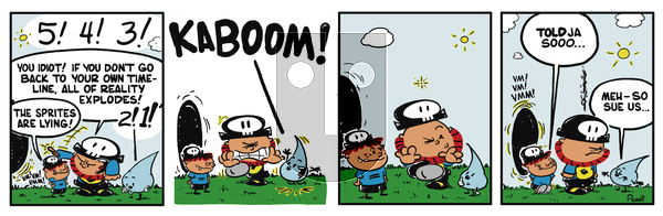 Pirate Mike on Thursday February 7, 2019 Comic Strip