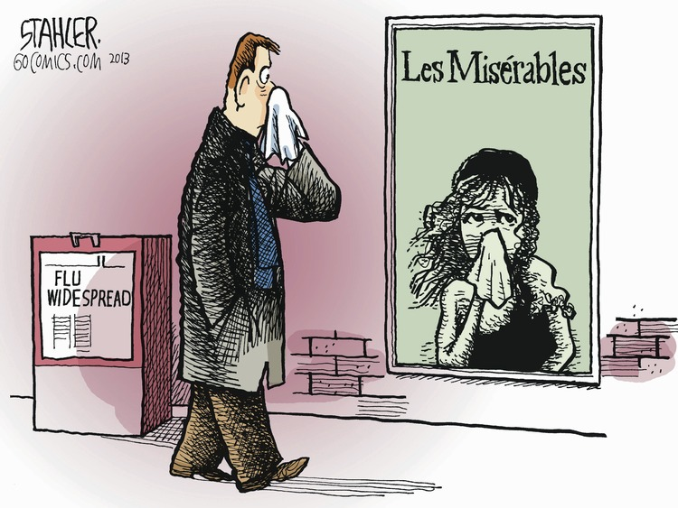 Flu widespread 