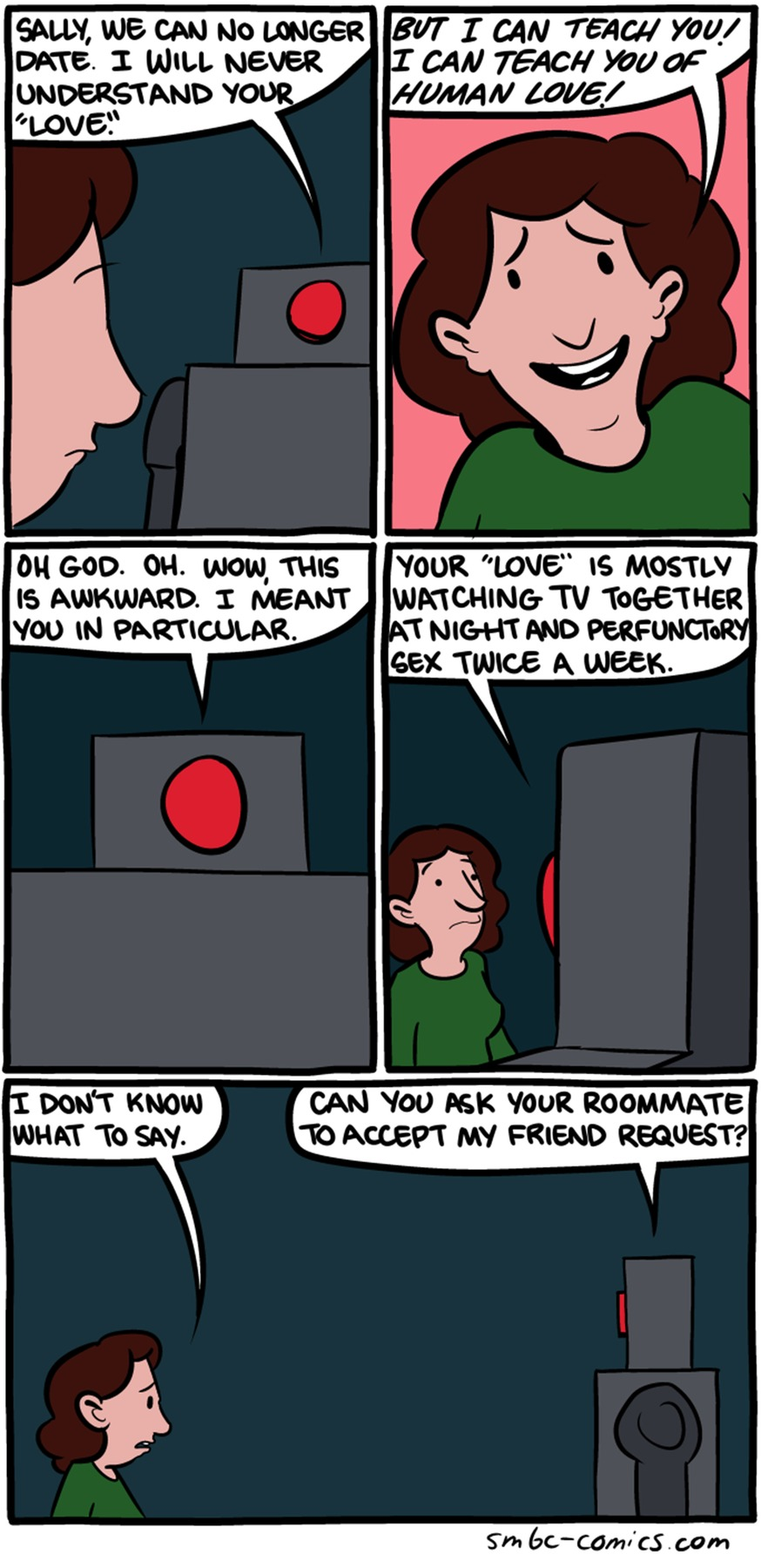 Saturday Morning Breakfast Cereal Comic Strip for October 11, 2015