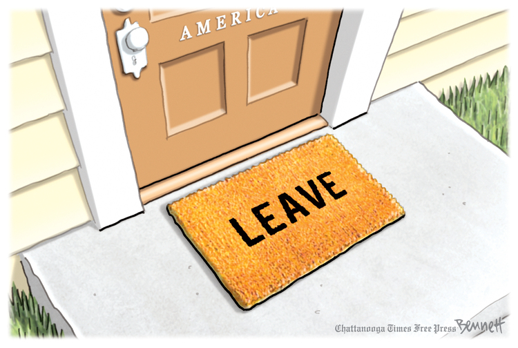Clay Bennett Comic Strip for July 20, 2019
