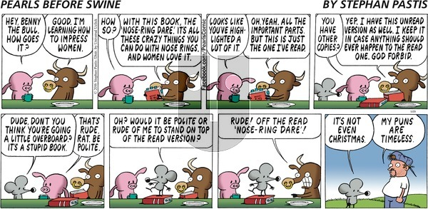Pearls Before Swine on Sunday May 29, 2016 Comic Strip