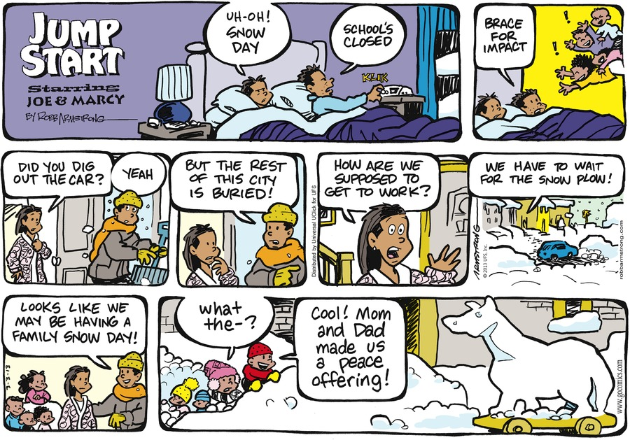 JumpStart Comic Strip for March 03, 2013