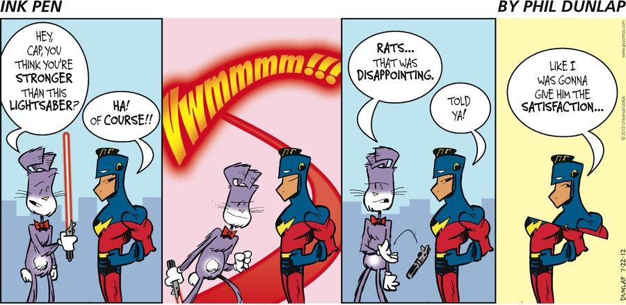 Ink Pen Comic Strip for July 22, 2012