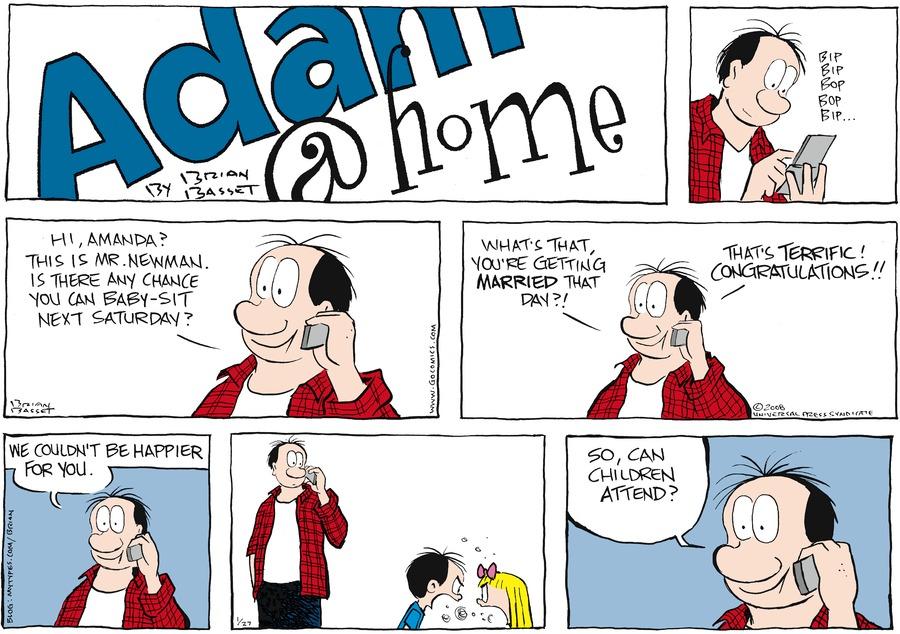 Adam@Home for Jan 27, 2008 Comic Strip