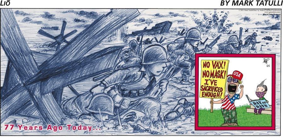 Lio Comic Strip for June 06, 2021