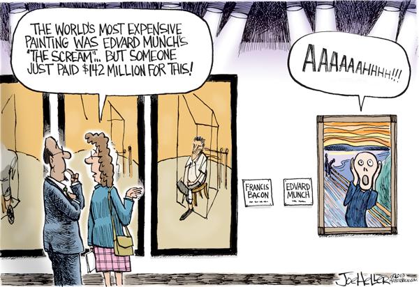 Joe Heller for Nov 16, 2013 Comic Strip