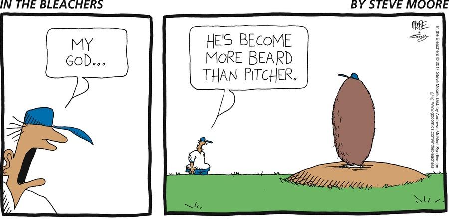 In the Bleachers for Feb 12, 2017 Comic Strip