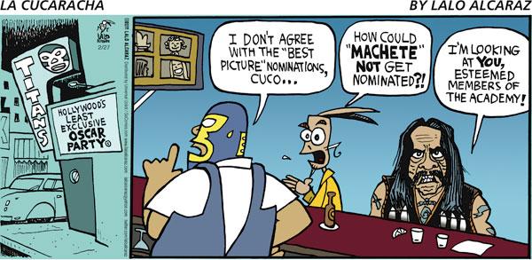 La Cucaracha for Feb 27, 2011 Comic Strip