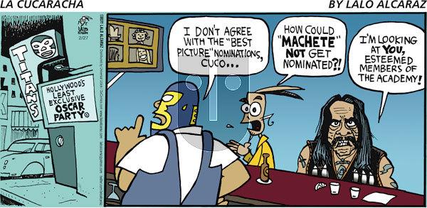 La Cucaracha on Sunday February 27, 2011 Comic Strip