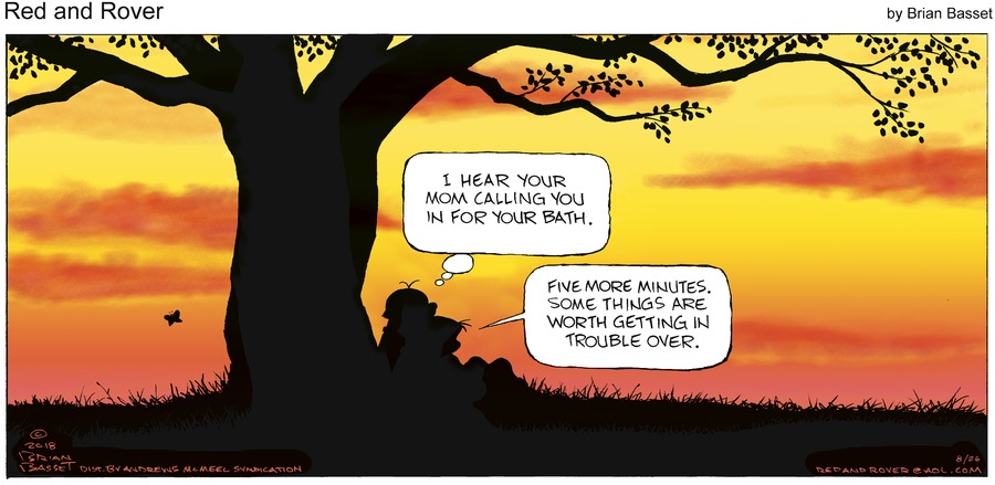 Red and Rover Comic Strip for August 26, 2018