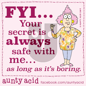 Aunty Acid on Wednesday November 13, 2019 Comic Strip