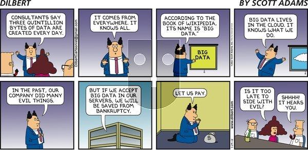 Dilbert - Sunday July 29, 2012 Comic Strip